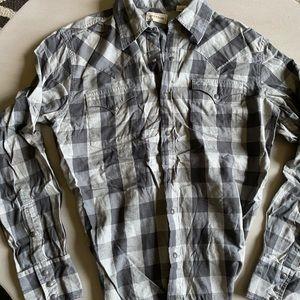Stetson Mens Western Cut Long Sleeve Shirt
